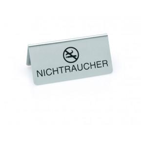 """Tischaufsteller, 10x5 cm """"NICHTRAUCHER"""" + -symbol"""