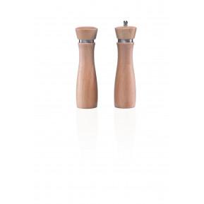 Salzstreuer aus Holz, natur, 13cm