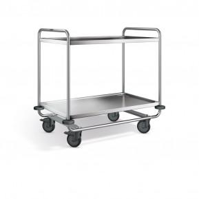 Blanco Servierwagen SW 10 x 6-2, Kunststoffrollen (2 Bockrollen) | Lager & Transport/Servier- & Transportwagen/Servierwagen