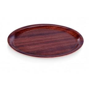 Café-Tablett oval und rutschfest, 29cm x 21cm