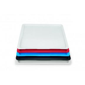 Tablett Polyester Euronorm, lichtgrau