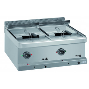 Elektrofritteuse 12+12 Liter Dexion Serie 77 - 70/70 Tischgerät