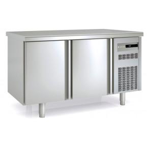 Durchreichekühltisch Premium 2/0