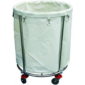 Wäschesammelwagen mit grossem Wäschesack, Höhe 83cm
