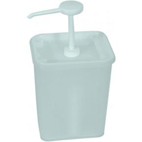 Saucenspender, 3L, Behälter 17x14x21cm, 30ml/Hub