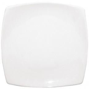 Olympia Whiteware Teller weiss abgerundete Ecken 30,5 cm