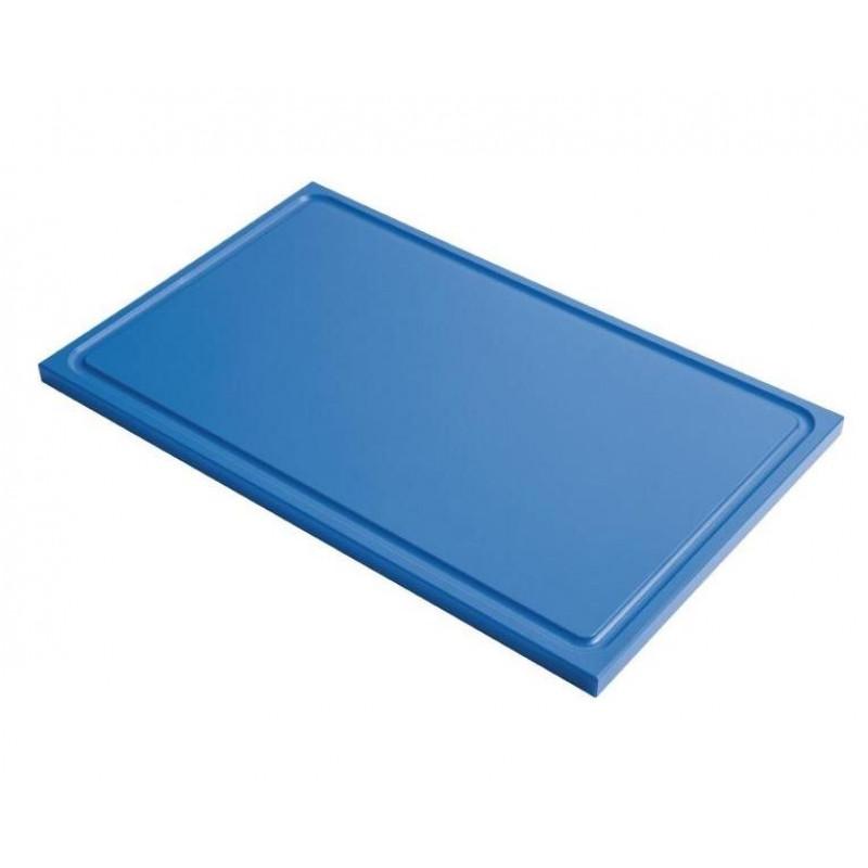 schneidebrett mit saftrille gastro m gn1 1 blau online shop gastro held schweiz. Black Bedroom Furniture Sets. Home Design Ideas