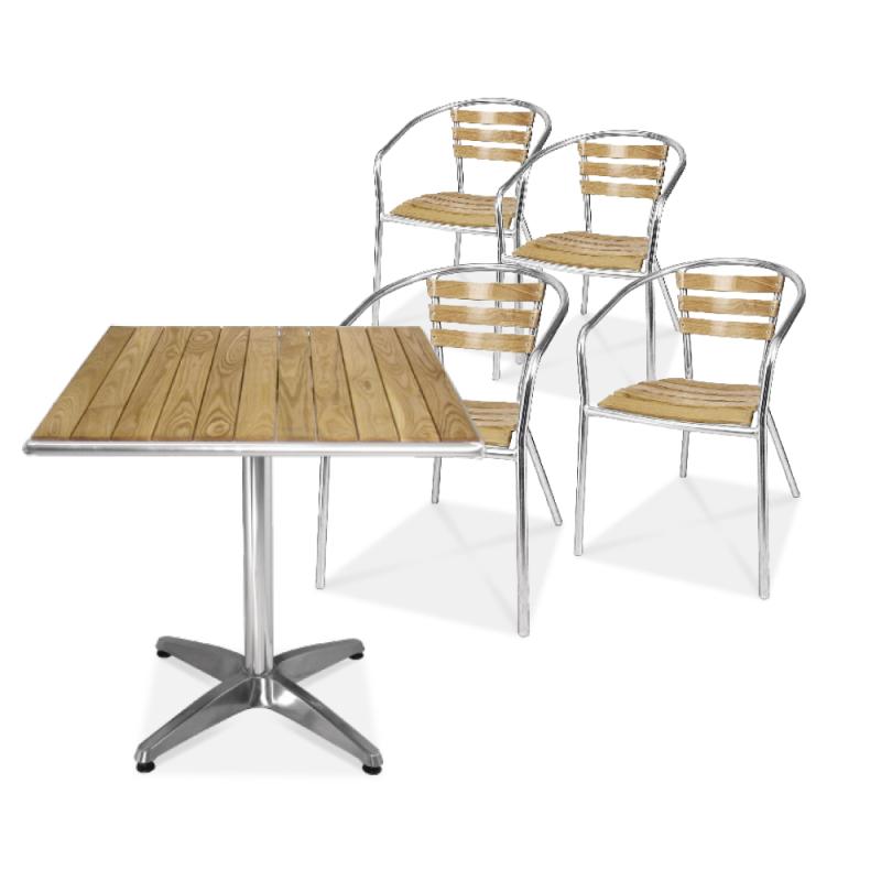bolero tisch und stuhl set online shop gastro held schweiz. Black Bedroom Furniture Sets. Home Design Ideas