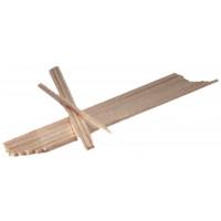 Neumärker Holzstäbe 380 mm 1200 Stück