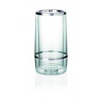 Flaschenkühler, Durchmesser: 11,5cm, Höhe 23cm