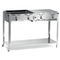 Grill-Master Quattro - 1270x525x(H)840mm | Kochtechnik/Grills/Kombibräter