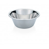 Küchenschüssel, bordierter Rand, konisch, Inhalt: 0,4 Liter