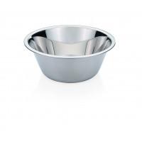 Küchenschüssel, mit bordiertem Rand, konisch, Inhalt: 0,7 Liter