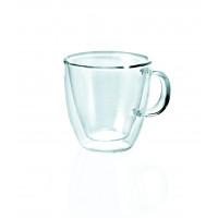 Glas Serie ENJOY, doppelwandig, Doppio mit Henkel