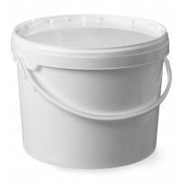 Kunststoff Eimer mit Deckel, Durchmesser 220x(H)290mm 11,5 Liter | Lager & Transport/Lebensmittelaufbewahrung/Eimer