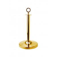 Abgrenzungsständer mit Top-Ring Titanium Gold 55cm