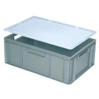 Auflagedeckel für Euro-Stapelbehälter -  weiß | Lager & Transport/Lagerausstattung/Lager- & Transportbehälter