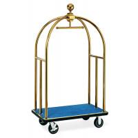 Kofferwagen ECO 1060 x 630 x 1850 - Gold Blau