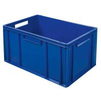 Euro-Stapelbehälter 600x400 mm, blau -  320 mm
