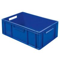 Euro-Stapelbehälter 600x400 mm, blau - 220 mm | Lager & Transport/Lagerausstattung/Lager- & Transportbehälter