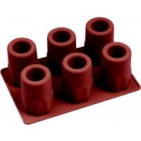 Silikonform zur Produktion gefrorener Schnapsgläser, 20x14x7cm