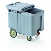 Ice-Caddy, preiswerte Ausführung 110l, grau | Lager & Transport/Servier- & Transportwagen/Icecaddies