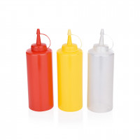 Dosier- / Quetschflasche, 0,45 Liter, gelb