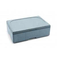 Thermobox für 1/1 Gastronorm Behälter, grau 100mm tief
