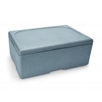 Thermobox für 1/1 Gastronorm Behälter, grau 200mm tief