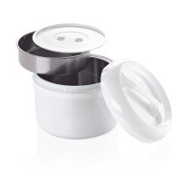 Kunststoff-Thermobehälter (für 2 Einsätze) - 2 Liter gesamt