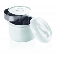 Kunststoff-Thermobehälter für 2 Einsätze - 3 Liter gesamt | Lager & Transport/Speisentransport/Speisentransportbehälter
