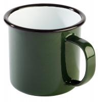 Henkelbecher -ENAMELWARE- Ø 9 cm grün