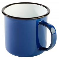 Henkelbecher -ENAMELWARE- Ø 9 cm blau
