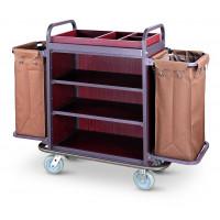 Zimmerservicewagen inkl. Wäschesäcke - mit 2 Wäschesäcken