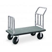 Gepäck-/ Transportwagen 1100 x 620 x 940 - Silber Grau