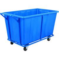 Wäschesammelwagen WANNE PE - blau