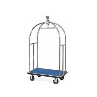 Kofferwagen ECO 1060 x 630 x 1850 - Silber Blau
