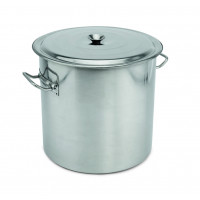 Abfallbehälter mit Deckel, Inhalt: 50 Liter, Höhe: 40cm