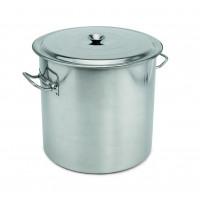Abfallbehälter mit Deckel, Inhalt: 100 Liter, Höhe: 50cm