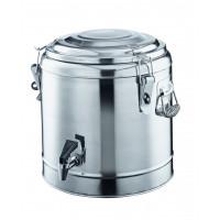 Thermo-Getränkebehälter mit Hahn - 20 Liter