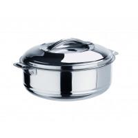 Thermobehälter aus Edelstahl mit Lappengriffen- 1,2 Liter | Lager & Transport/Speisentransport/Speisentransportbehälter