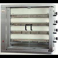 Elektro-Kontaktgrill ECO 2 x 2,2 kW oben glatt / unten glatt