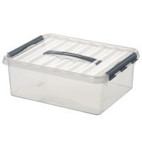 Klarsichtbehälter mit Deckel 400x300 mm - 140 mm | Lager & Transport/Lagerausstattung/Lager- & Transportbehälter
