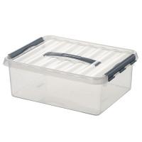 Klarsichtbehälter mit Deckel 400x300 mm - 180 mm | Lager & Transport/Lagerausstattung/Lager- & Transportbehälter