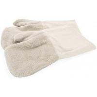 Paar Hitze-Handschuhe, beige, 40 cm