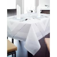 Tischwäsche Madeira, 100% Baumwolle, 4-seitiger Atlaskante, 130 x 220 cm