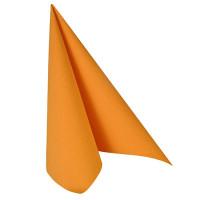 """Papstar 50 Servietten """"ROYAL Collection"""" 1/4-Falz 40 cm x 40 cm orange"""
