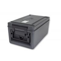 Rieber Thermobox 26 Liter Toplader beheizt, schwarz