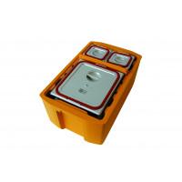 Rieber Thermobox 26 Liter Hybrid Toplader, orange