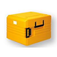 Rieber Thermobox 104 Liter Frontlader, orange